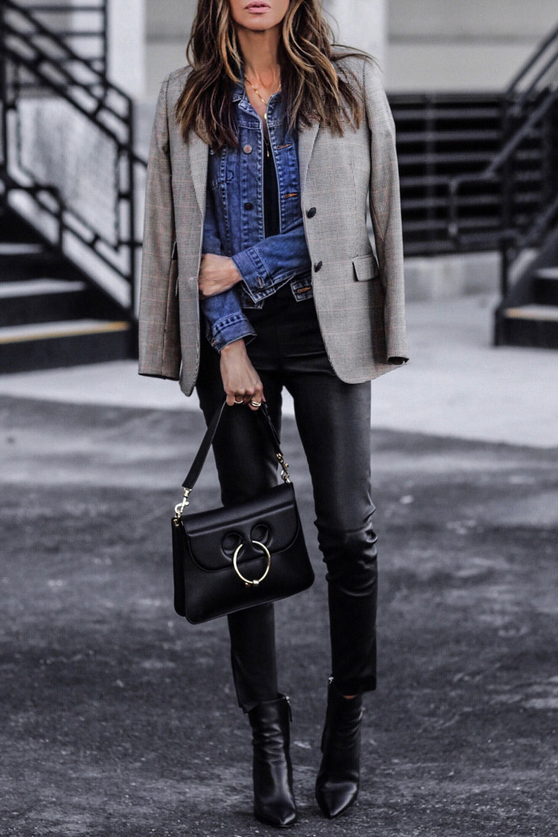 One Blazer, Three Looks