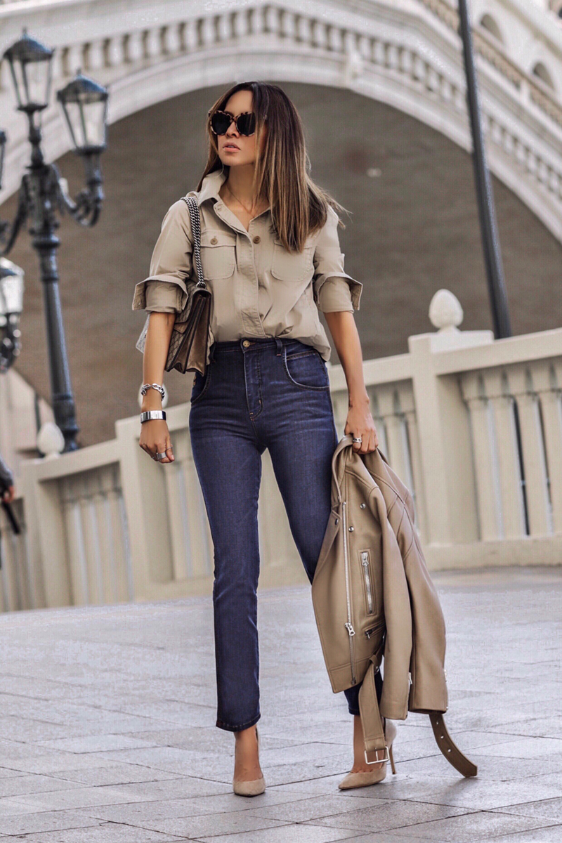 My Favorite Denim Looks for Spring with SAGJOL