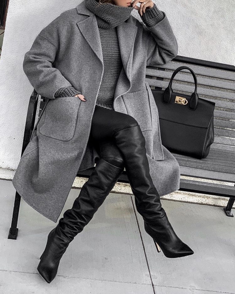 shoes every woman needs, over the knee boots | lolariostyle.com