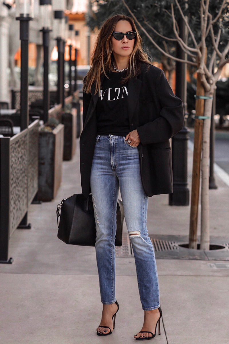 5 Quick Tricks for Dressing Up Jeans