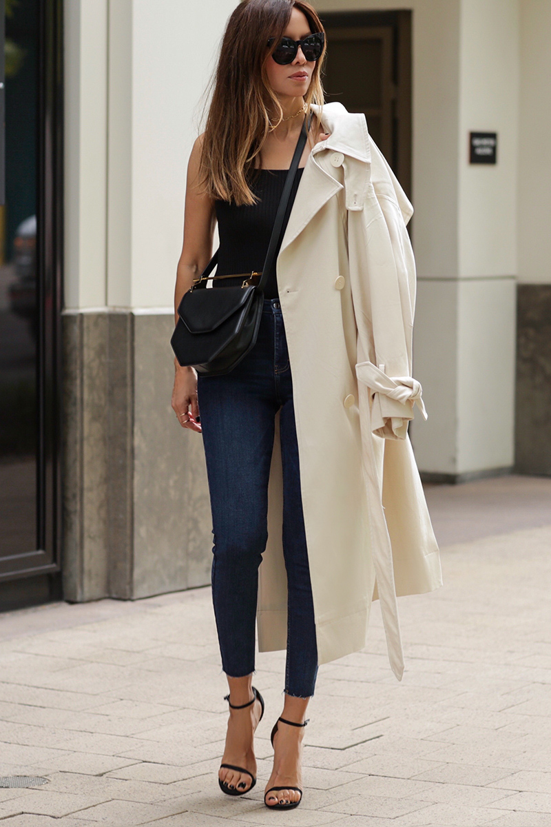 Stylish Ways to Wear a Trench Coat During Summer