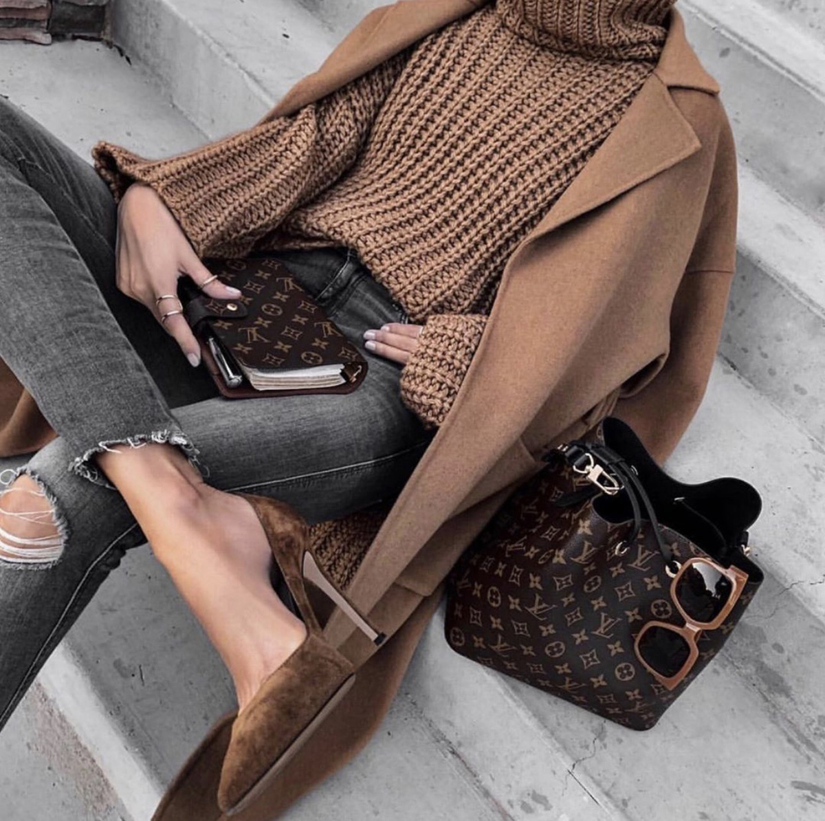 sweater styles, chic sweater styles, sweater styles of fall 2019, oversized sweater, chunky knit sweater and blazer, fall outfits   lolario style
