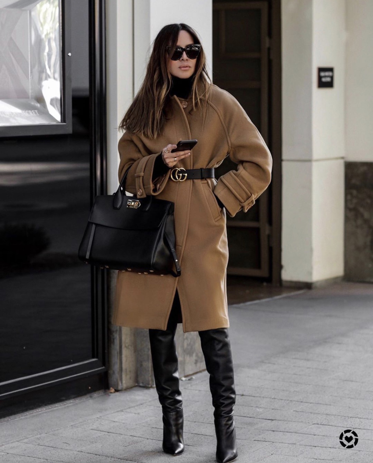 Coats Every Woman Should Own, belted camel coat, fall outfit inspiration by lolario style | lolariostyle.com