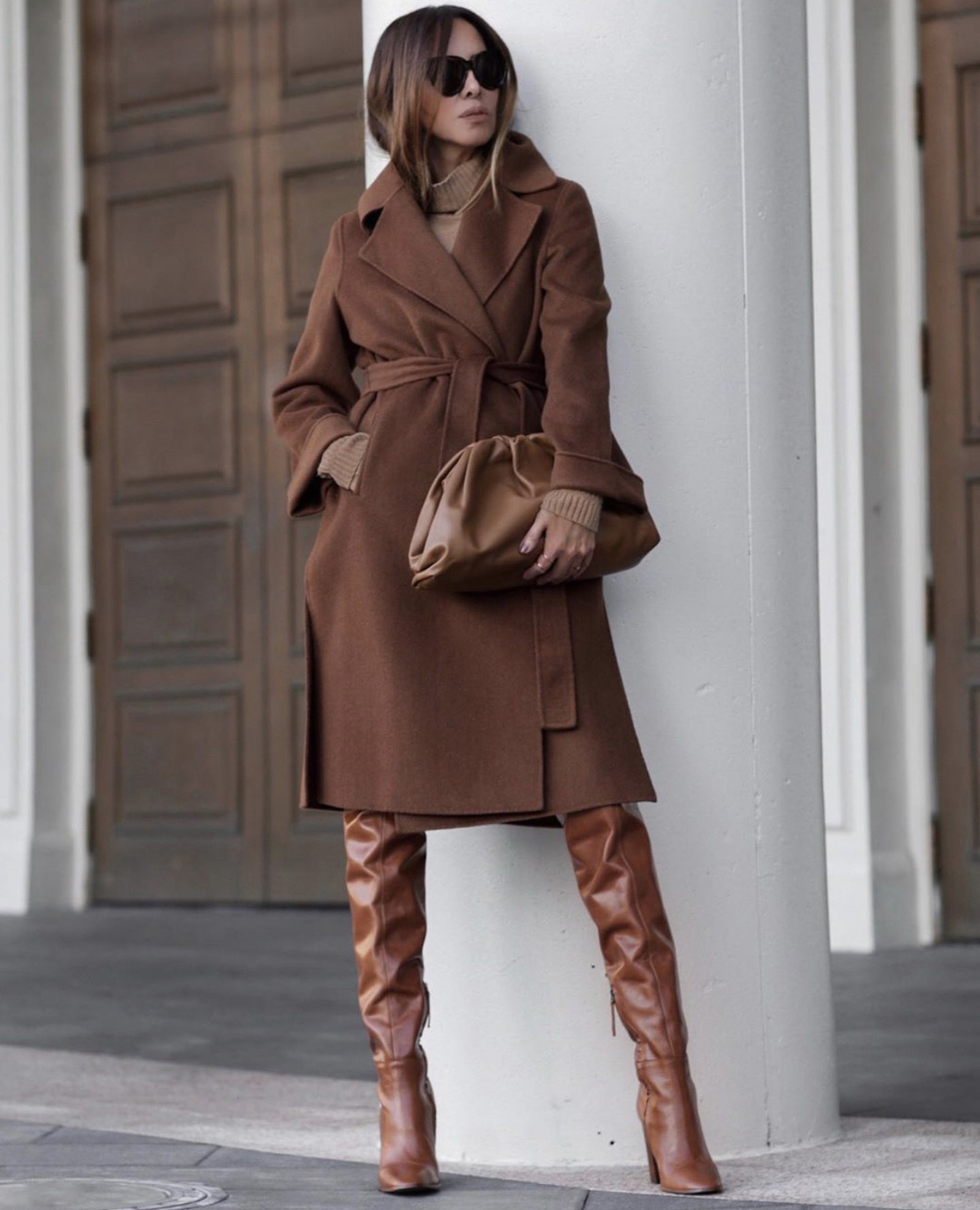 Coats Every Woman Should Own, belted wool coat, fall outfit inspiration by lolario style | lolariostyle.com