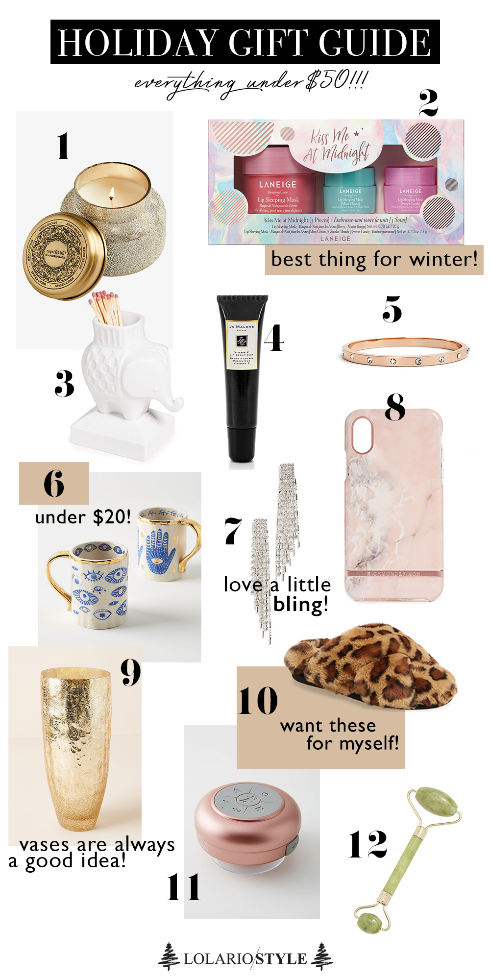 Under $50 Holiday Gifts That Only Look Expensive