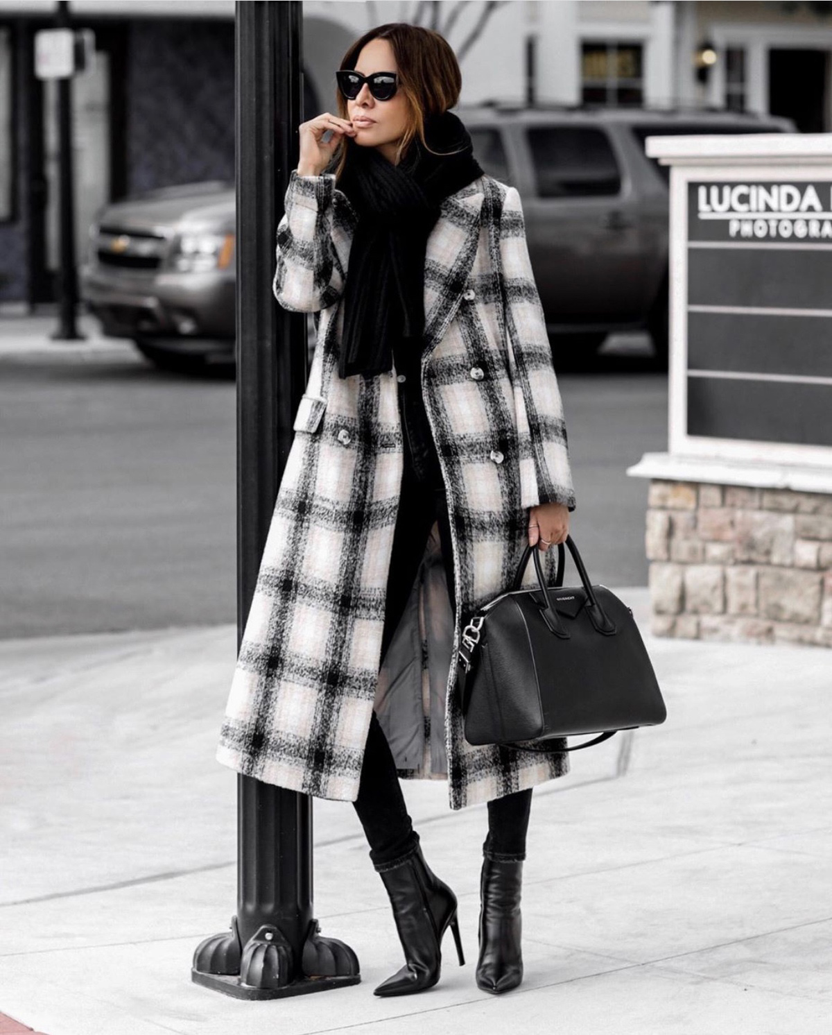 Coats Every Woman Should Own, topshop plaid coat, fall outfit inspiration by lolario style | lolariostyle.com