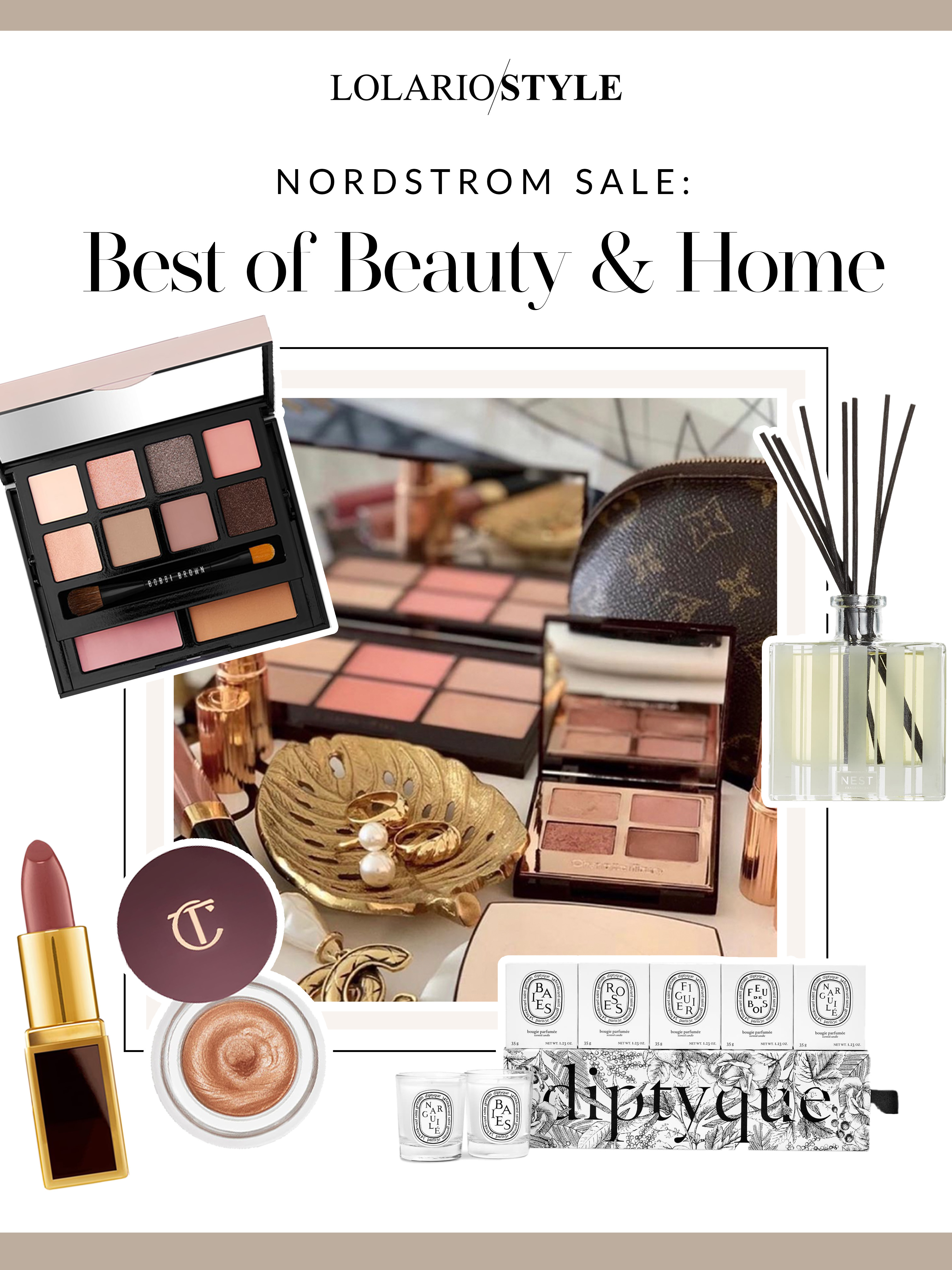 Nordstrom Sale: Best of Beauty & Home