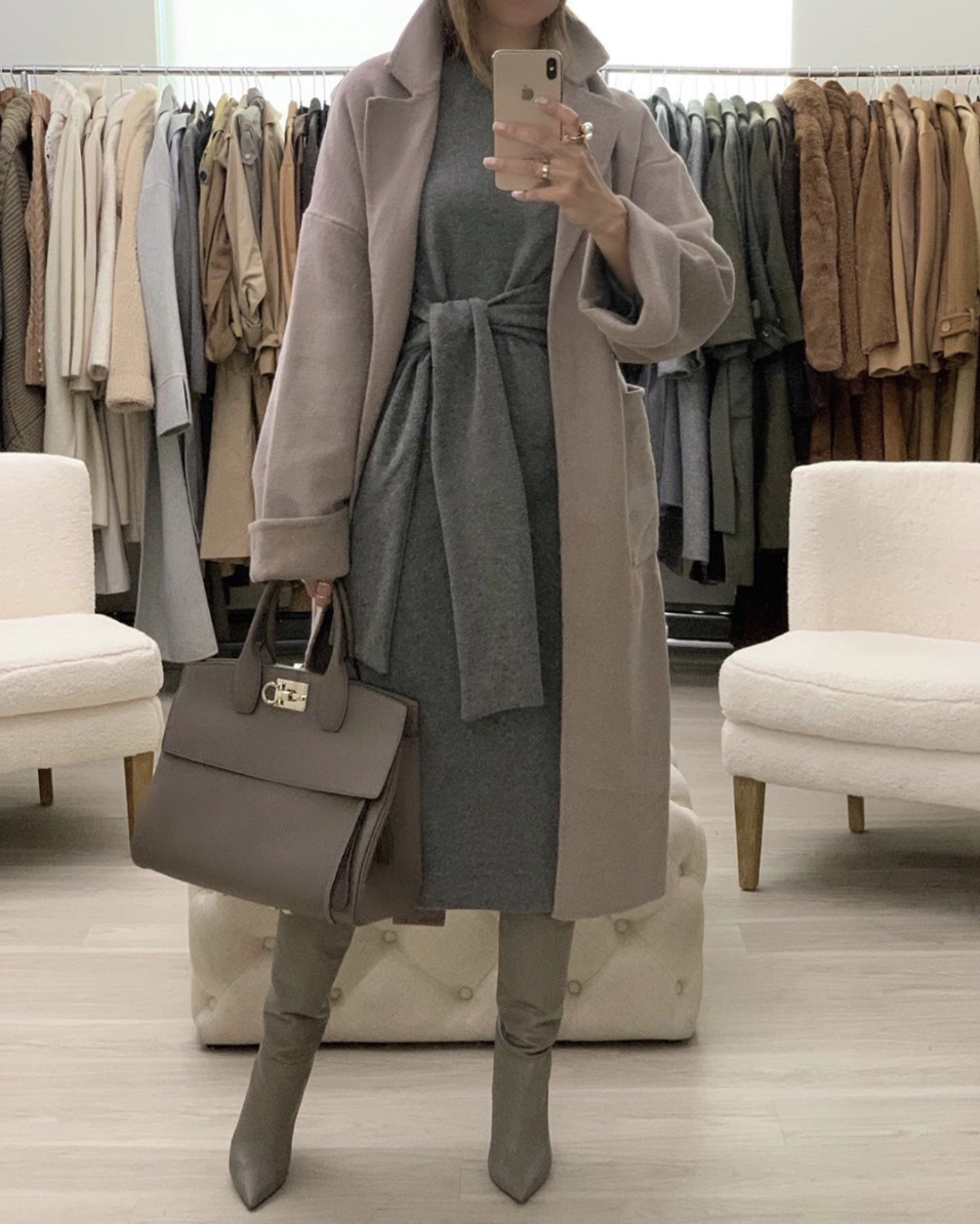 How to Style Sweater Dresses